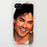 Ian Somerhalder The Vampire Diaries iPhone Case by Toni Miller | Society6