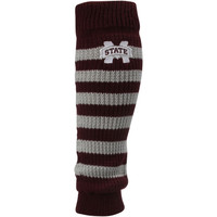 Mississippi State Bulldogs adidas Women's Striped Leg Warmer