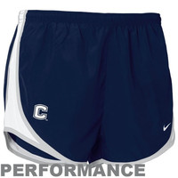 Nike UConn Huskies Women's Navy Blue Dri-FIT Tempo Performance Training Shorts