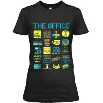 The Office Quote Mash-Up Funny  - Official Tee Ladies Custom