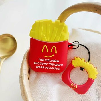 French Fries Protective Airpod Case