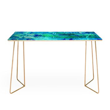 Rosie Brown Blue Grotto Desk