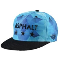 Asphalt Yacht Club Ice 5 Panel Snapback - Men's at CCS