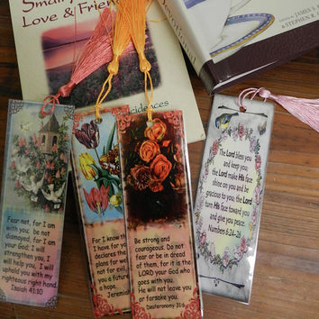 Handmade Bible Scripture Bookmarks Religious Bookmarks Set Christian Bookmarks