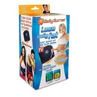 Amazon.com: Belly Burner Weight Loss Belt, Black, One Size Fits All Up To 50-Inches: Health & Personal Care