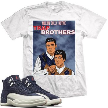 Jordan 12 Japan Match Sneaker Tees Shirt - TRAP BROS