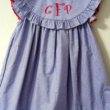 Pre SALE Back to School Monogram Dress f2b54057b9f7