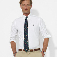 Polo Ralph Lauren Custom-Fit Broadcloth Sportshirt - White