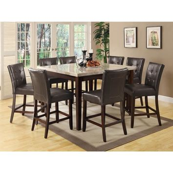 Milton 5 pc Counter Height Dining Collection by Coaster