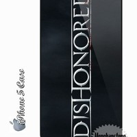 Fantastic iPhone 5 Case Dishonored Video Game Logo