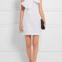 Victoria, Victoria Beckham - One-shoulder faille mini dress