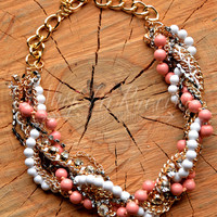 SWEET SERENITY NECKLACE - PINK
