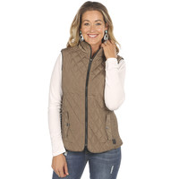 Women's STS Ranchwear Mink Quilted Vest