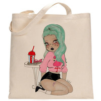 Palm Springs Gal Tote Bag
