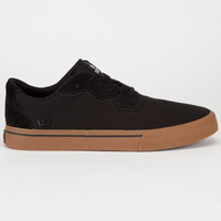 Supra Axle Mens Shoes Black/Gum  In Sizes