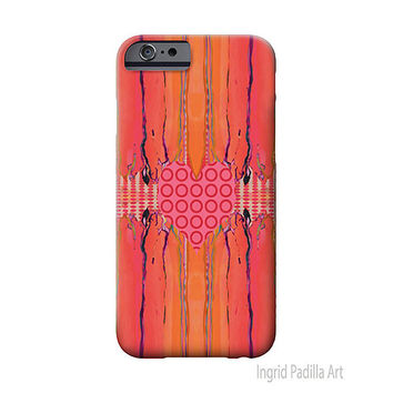 Funky Heart, iPhone 6 Case, iPhone 5 case, iPhone cover, iPhone 5S case, iPhone 6 plus case, art,abstract, iPhone cases, Ingrid Padilla