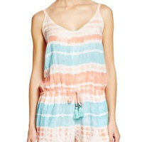Gypsy 05 Voile Spaghetti Romper Swim Cover Up | Bloomingdales's