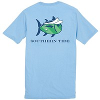 On The Green Tee Shirt in True Blue by Southern Tide