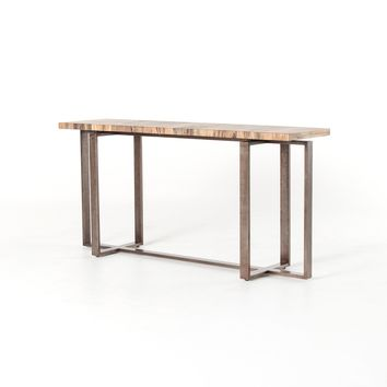 HAL CONSOLE TABLE-SPALTED PRIMAVERA