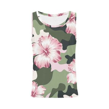 Pretty In Camouflage Camo Tank Top For Women