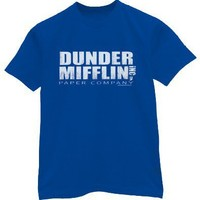 Dunder Mifflin t-shirt by Crazy Dog Tshirts