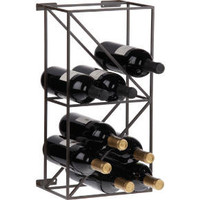 linear 12 bottle wine rack