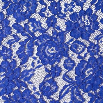 Embroidered Flat Lace Classic Wedding Dress Fabric