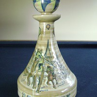 1975 Louisville Stoneware 101st Derby Commemorative Decanter