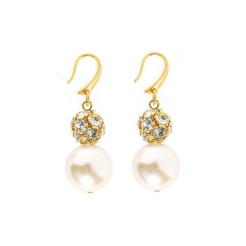 Pearl Chandelier Earrings by Kiel James Patrick