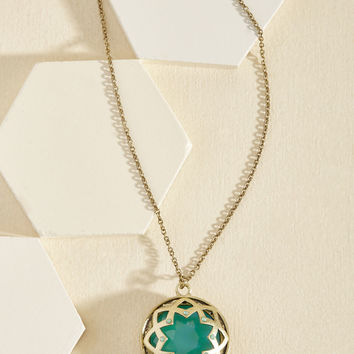 It Was an Honest Mystique Necklace in Ocean | Mod Retro Vintage Necklaces | ModCloth.com