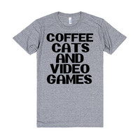 Coffee, Cats, and Video Games