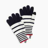 crewcuts Girls Striped Wool Gloves