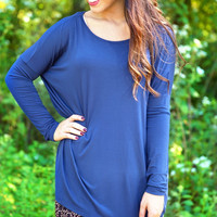 Piko Top - Navy