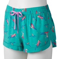 SO Pajamas: Woven Pajama Shorts - Juniors' Plus Size, Size: