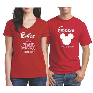 Personalized Matching Couples Shirts | Our T Shirt Shack