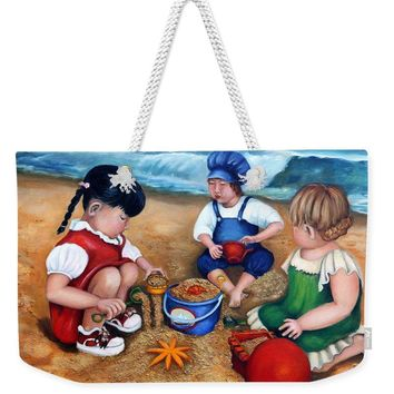 A Day At The Beach  - Weekender Tote Bag