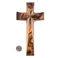 Wood Wall Cross, Wall Cross, Wooden Wall Cross, Christian Decor, Wall Hanging, Hand Carved Wall Cross, Christian Cross Decorative Wall Cross