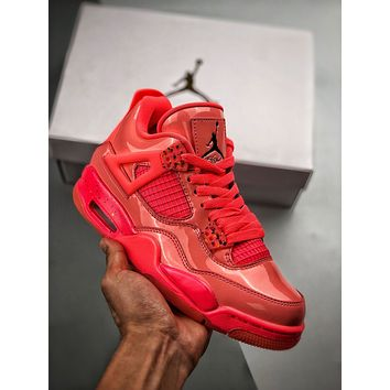 """Air Jordan 4 NRG""""Hot Punch Women Casual Shoes Boots fashionable casual leather Women Heels Sandal Shoes"""