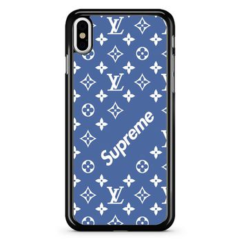 Supreme Blue iPhone X Case
