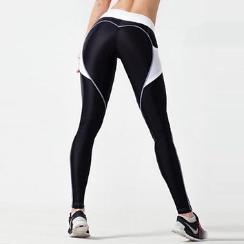 LMTD Edition Glamour Heart Leggings (Black)