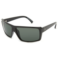 Von Zipper Snark Sunglasses Black Gloss/Grey One Size For Men 19321318001