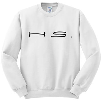 "Harry Styles ""H.S."" Crewneck Sweatshirt"