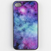 Galaxy Print Iphone 4 Case Multi One Size For Women 22458695701
