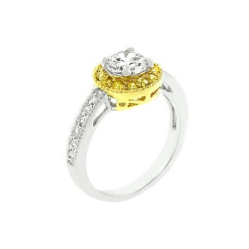 Ornament Bridal Ring - Similar to Cartier