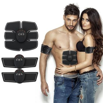 Abdominal machine electric muscle stimulator ABS ems Trainer fitness Weight loss