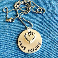 Stay Strong Necklace