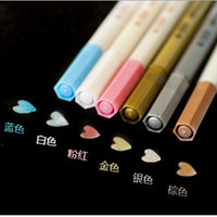 Water Chalk Pen Watercolor Pens for Scrapbooking Photo album Marker Gel Pen for Painting Korean Stationery Free shipping 048