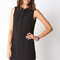 Minimalist Drop Waist Shirt Dress