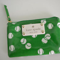 Kate Spade New York 'Daycation' Coin/Key Holder/Wallet New Green