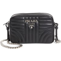 Prada Small Impunture Quilted Calfskin Leather Camera Bag | Nordstrom